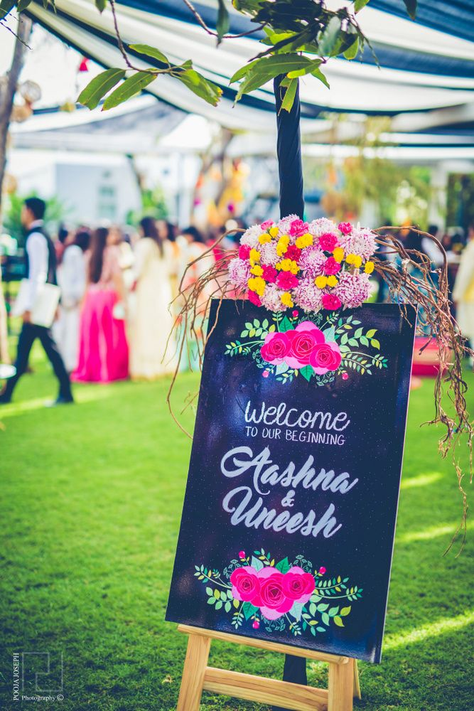 Wedding Decor Photo wooden signboards