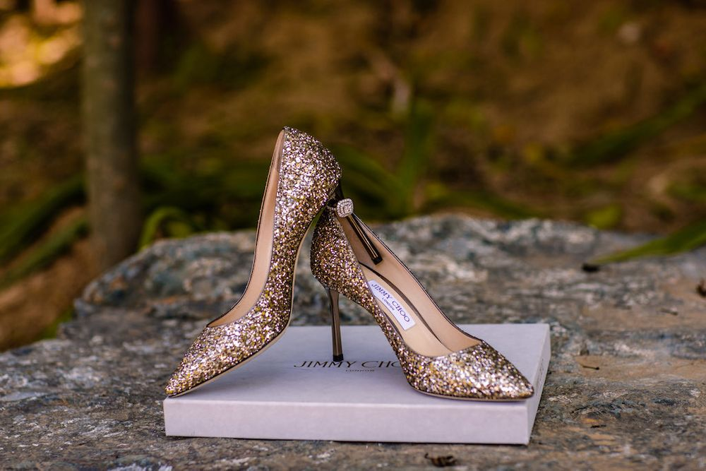 Photo of Shimmery jimmy choos