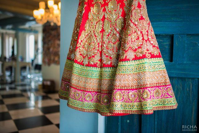 Photo of Red lehenga by Ram Kishan Sarees Chandni Chowk