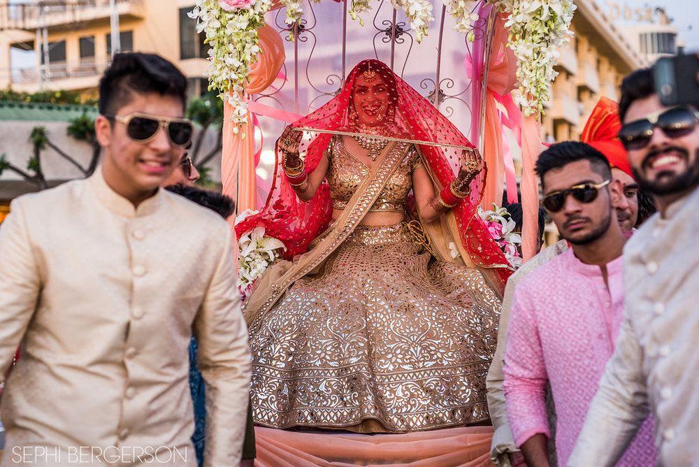 Bridal Lehenga Photo bride entry