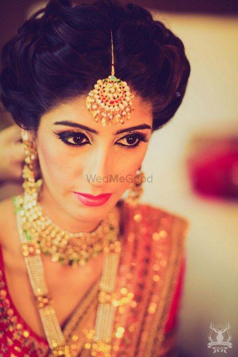 Photo of bridal makeup