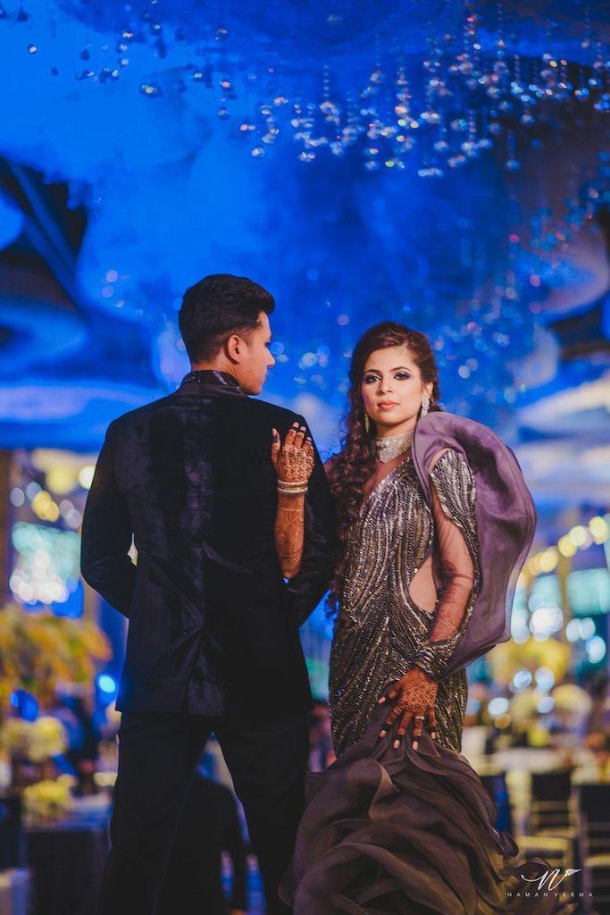 Photo of Purple gaurav Gupta evening gown