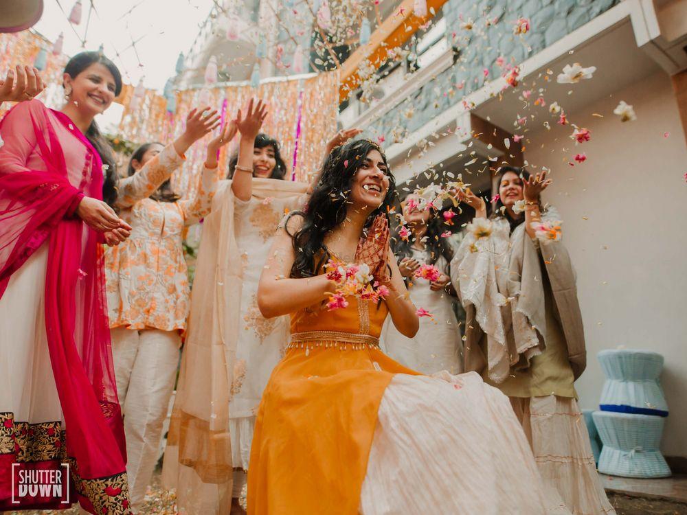 Photo of fun haldi ceremony photo