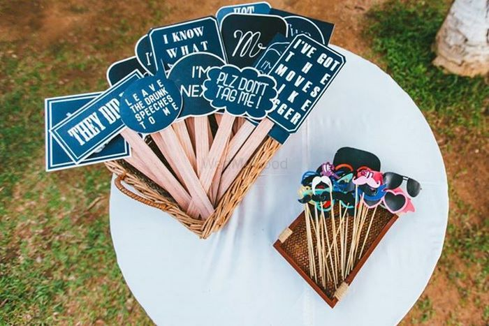 Photo of photobooth props