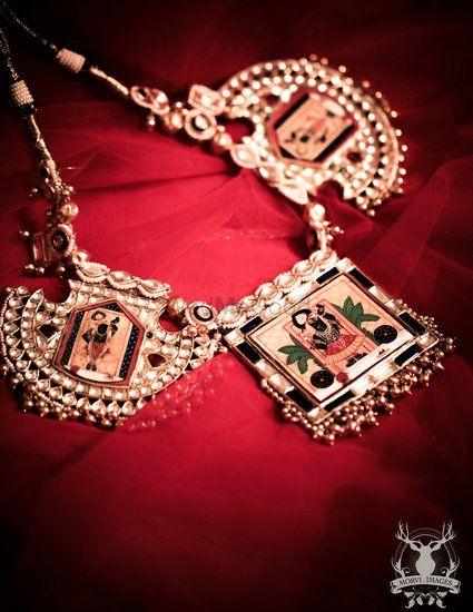 Photo of antique bridal necklace