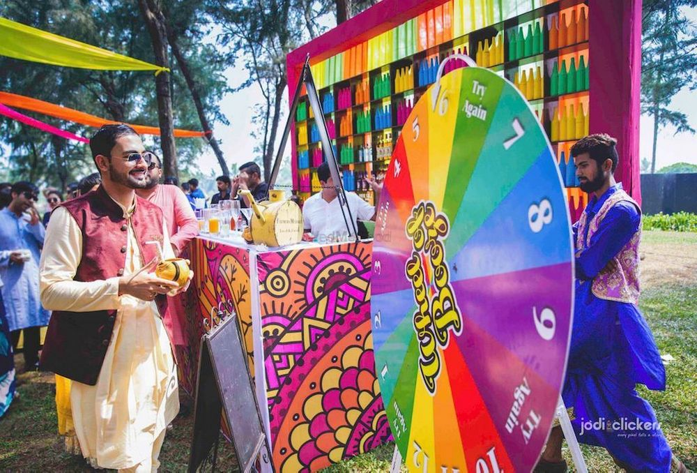 Photo of Spin the wheel activity and games for the mehendi
