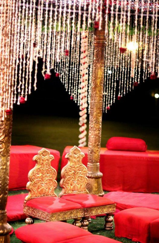 Photo of Glamorous wedding decor