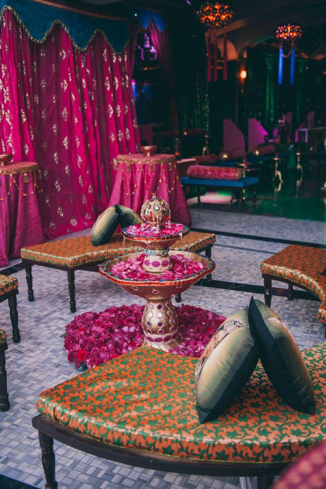 Photo of Arabian nights theme mehendi