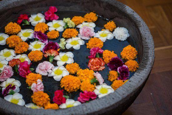 Marigold Wedding Decor Photo