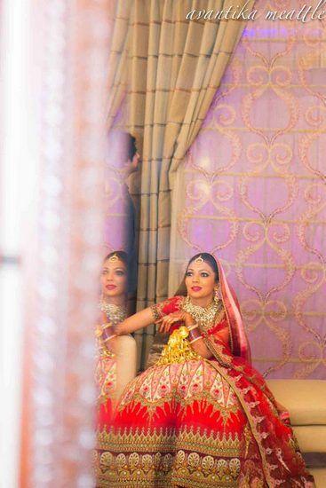 Photo of bridal lehenga