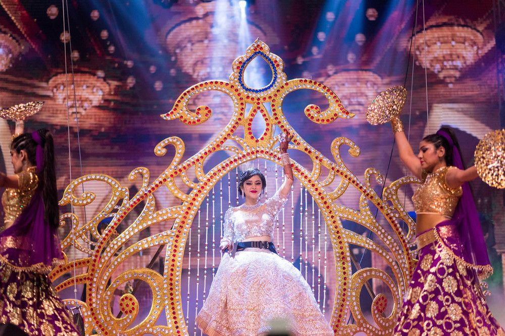 Photo of Bridal entry or solo dance on sangeet
