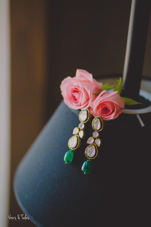 Photo of Jewellery photography bridal earrings