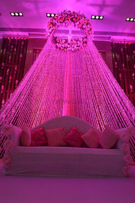 Lavender Wedding Decor Photo