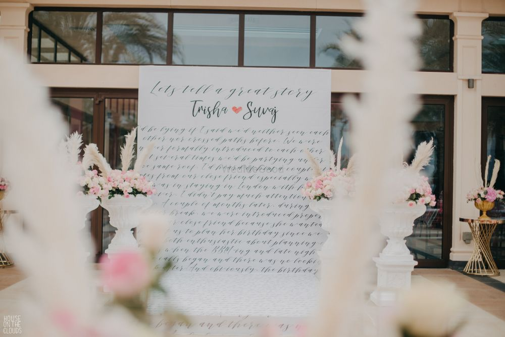Photo of unique idea to tell everyone couple love story