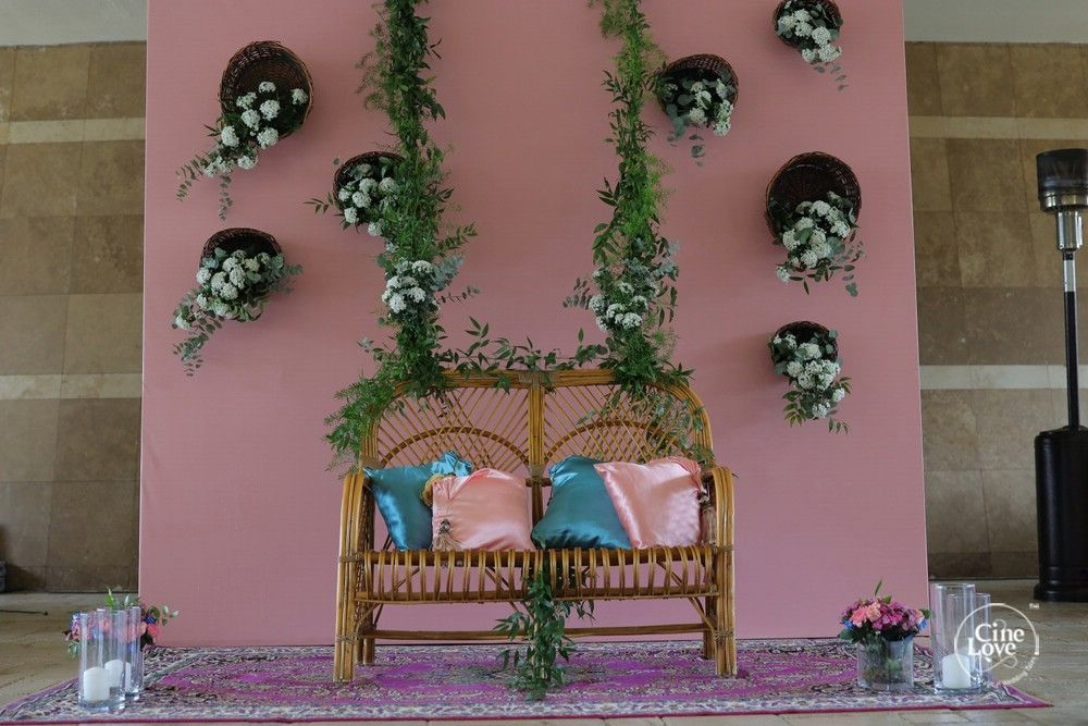 Photo of home decor seating idea for the mehendi