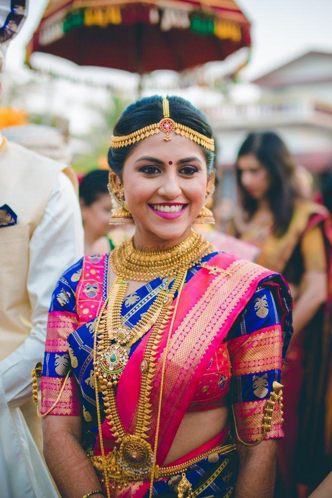 Wedding Jewellery Photo kanjeevaram color combinations