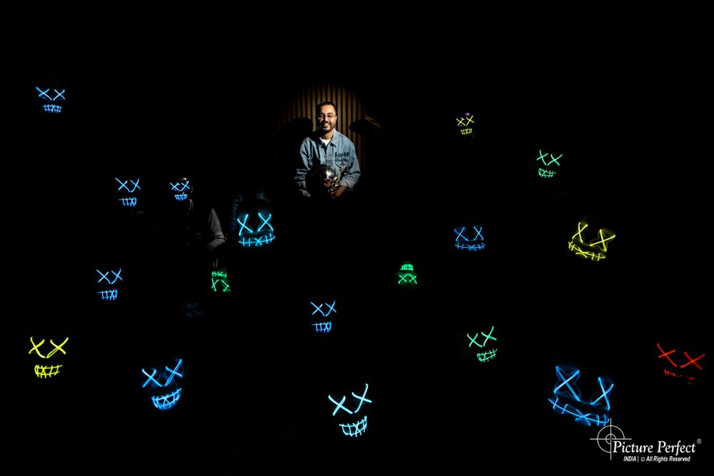 Photo of fun cocktail party ideas with led masks