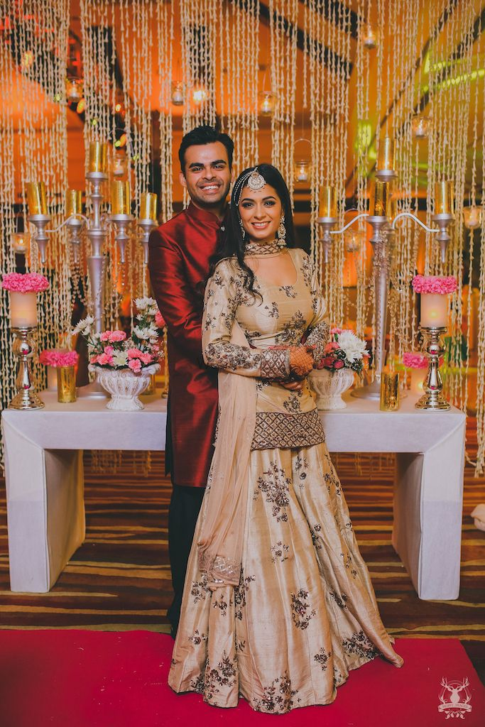 Photo of Lehenga with long blouse and sharara for sangeet
