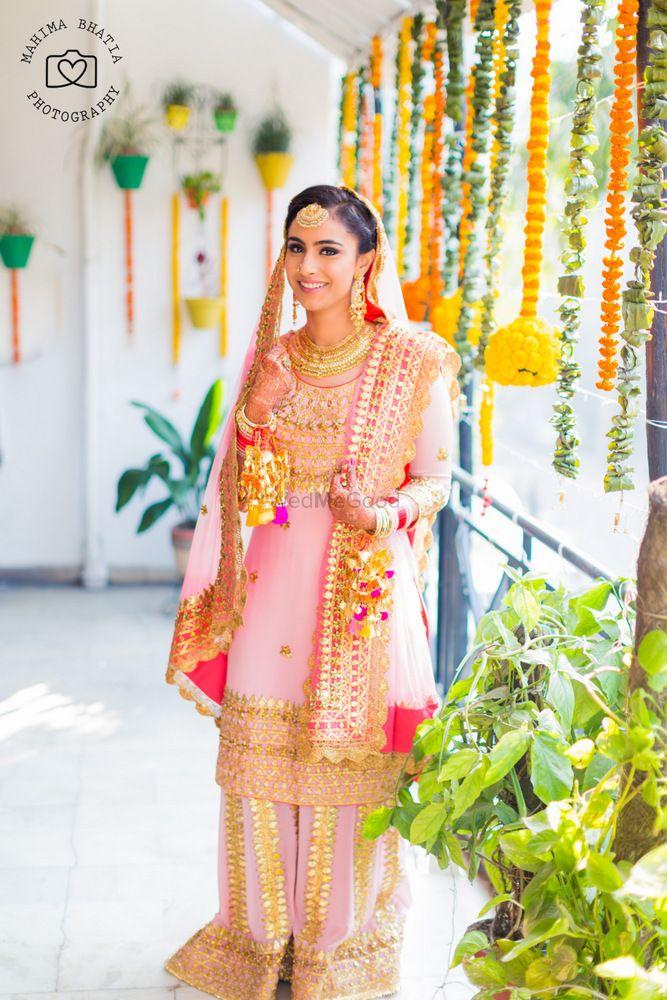 Photo of pink sharara