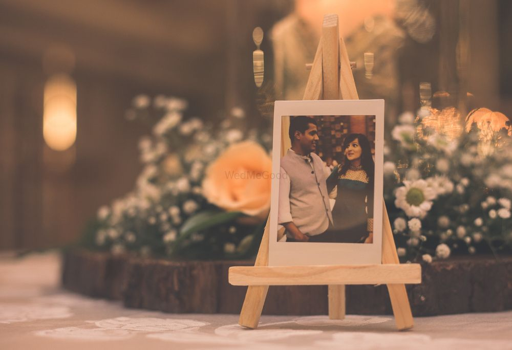 Photo of Personalised centrepiece for engagement decor ideas