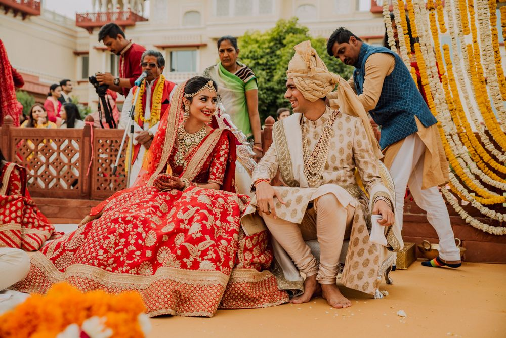 Photo of Sabyasachi bride and groom