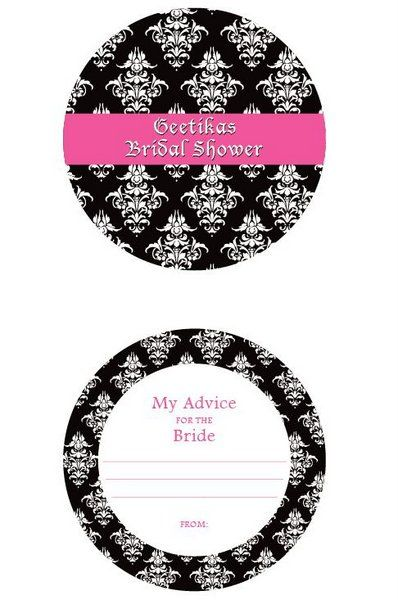 Photo of Let your bridesmaids fill in advice for you as a bride. Do this on  your bachelorette or bridal shower