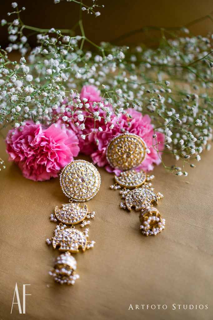 Photo of Bridal earring photography