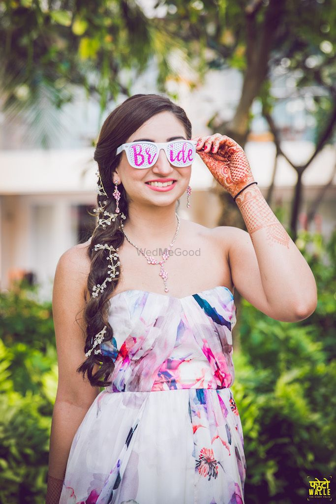Photo of Bride accessories sunglasses