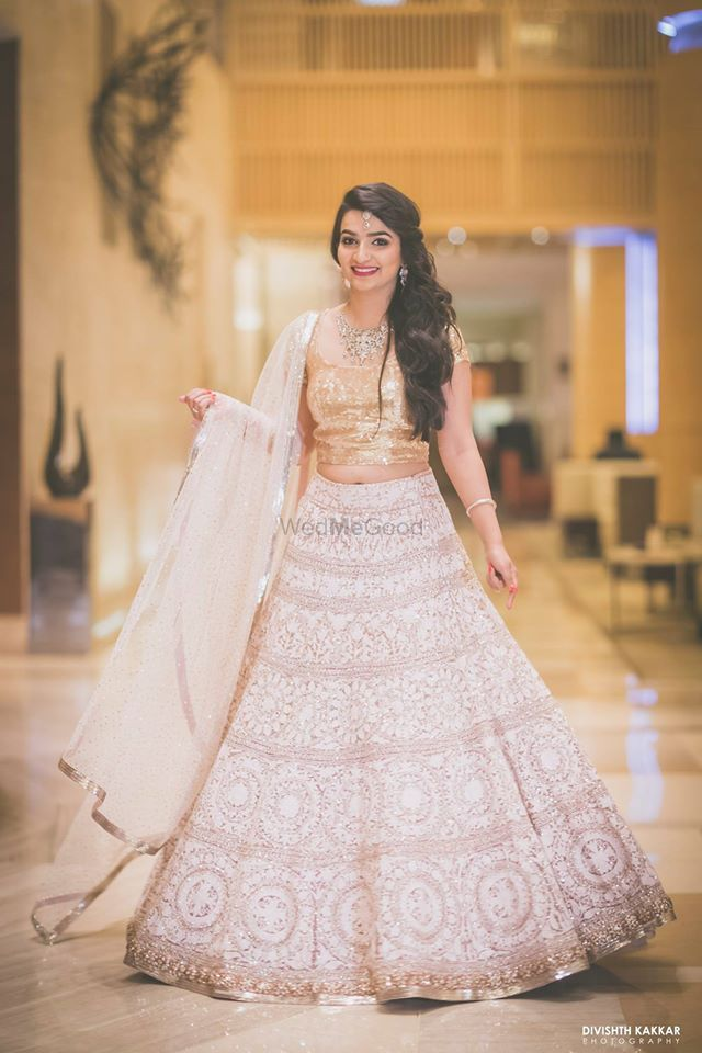 Photo of Manish malhotra lehenga for cocktail