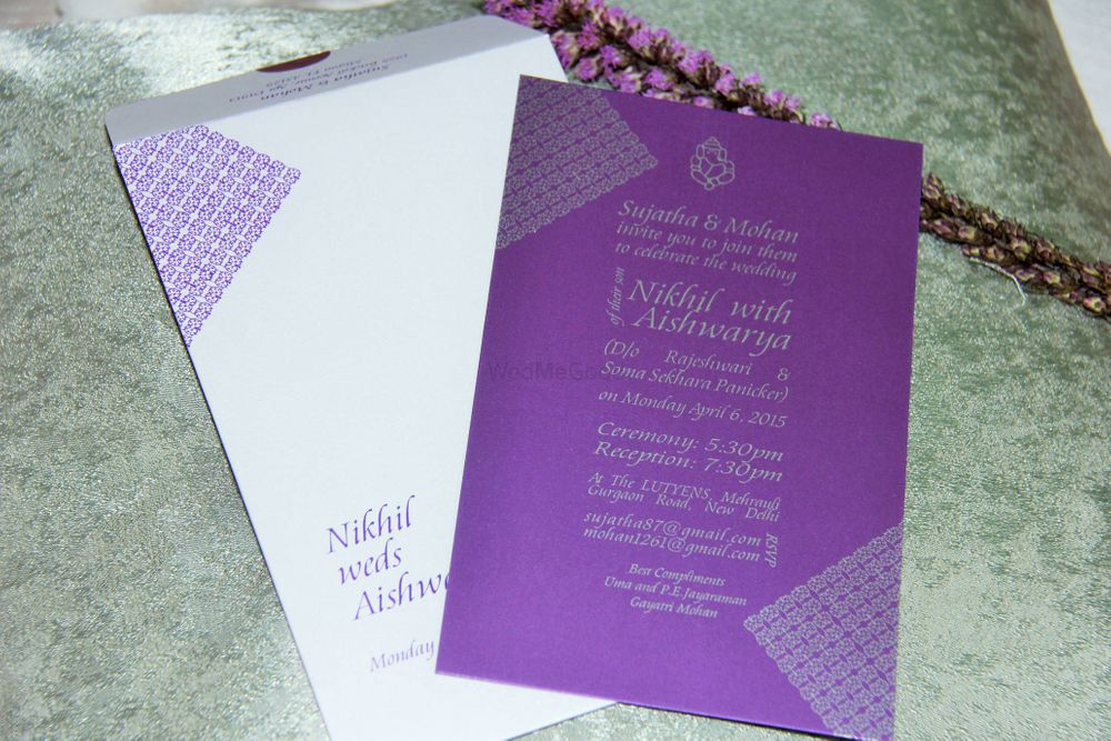 Photo By White Shoe Press - Invitations