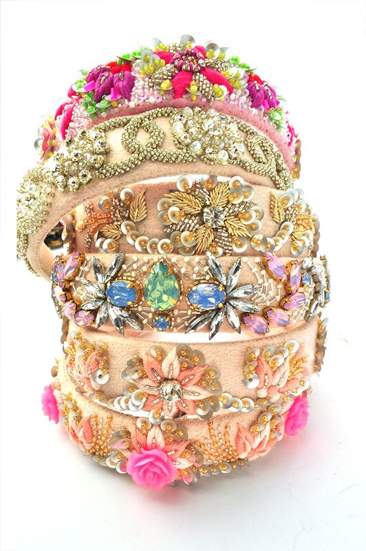 Photo of bridal hairbands