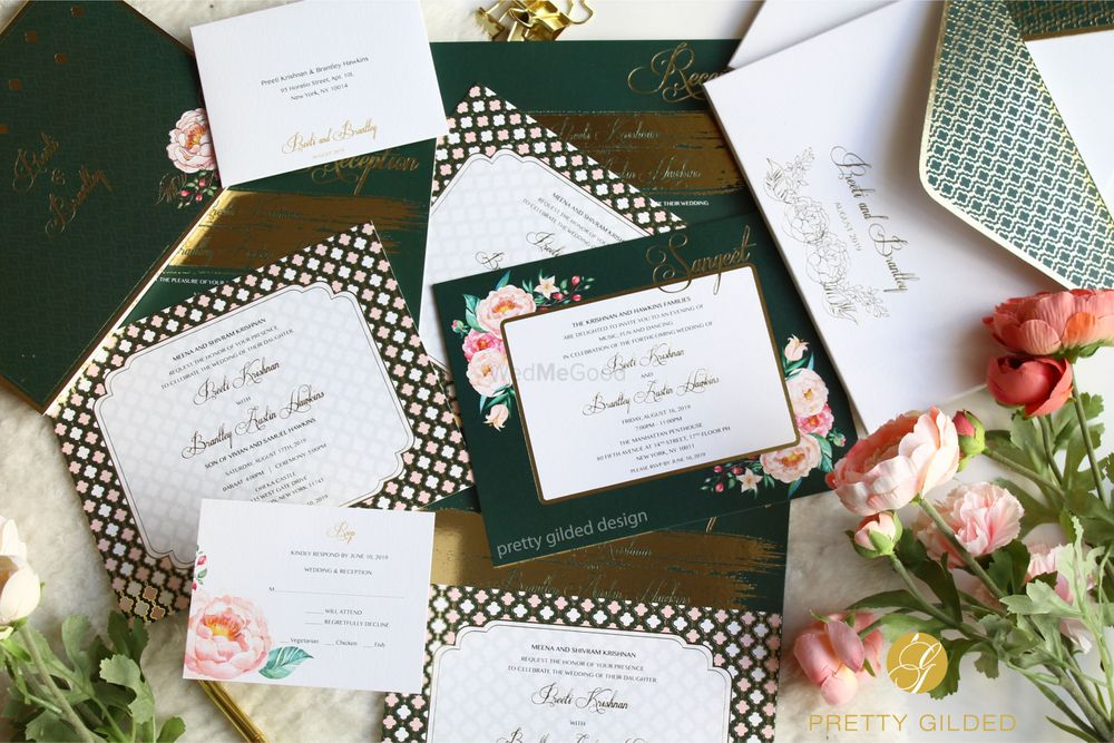 Photo By Pretty Gilded Designs - Invitations
