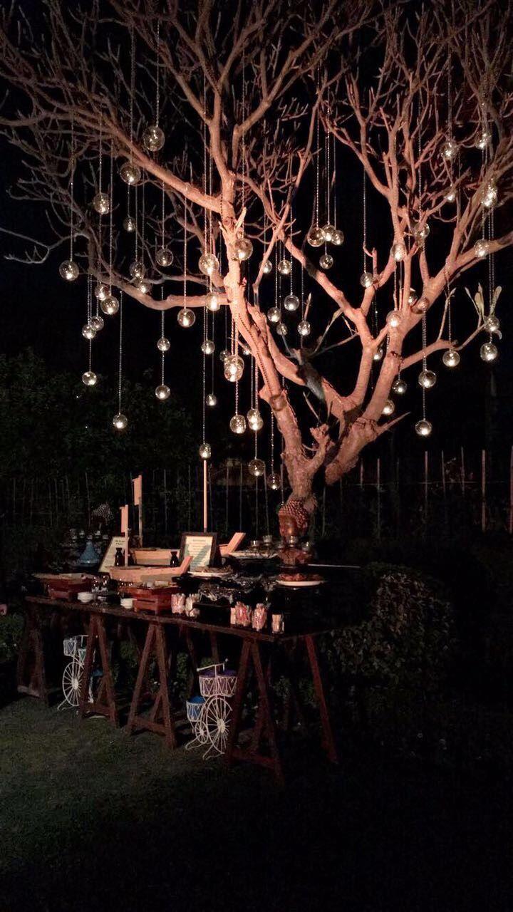 Photo of Hanging balls decor
