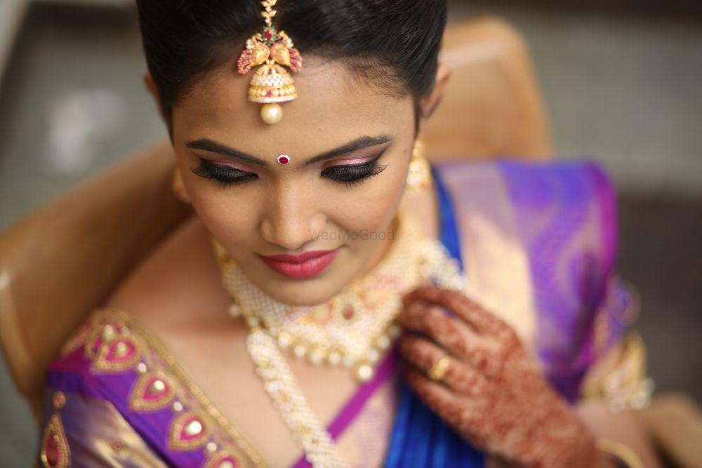 Photo of South Indian bridal makeup