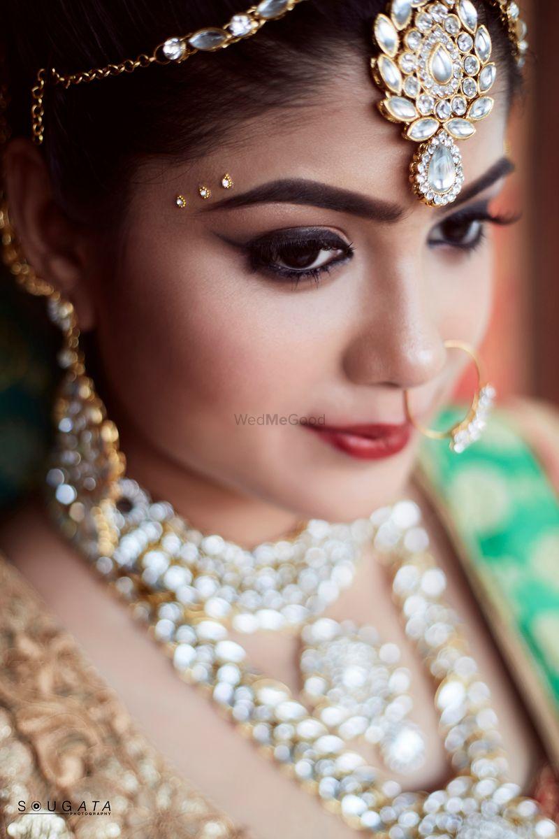 Photo of Subtle Bridal makeup look