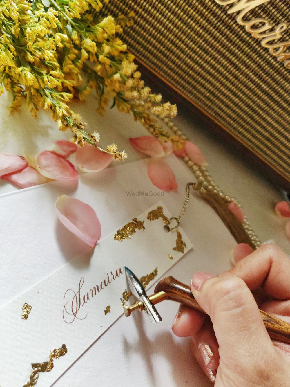 Photo By Cold Press Art & Calligraphy - Invitations