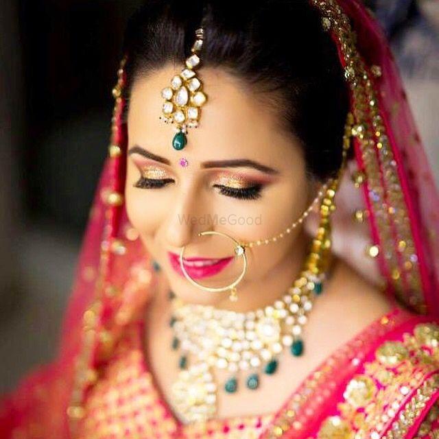 Photo of Subtle bridal makeup