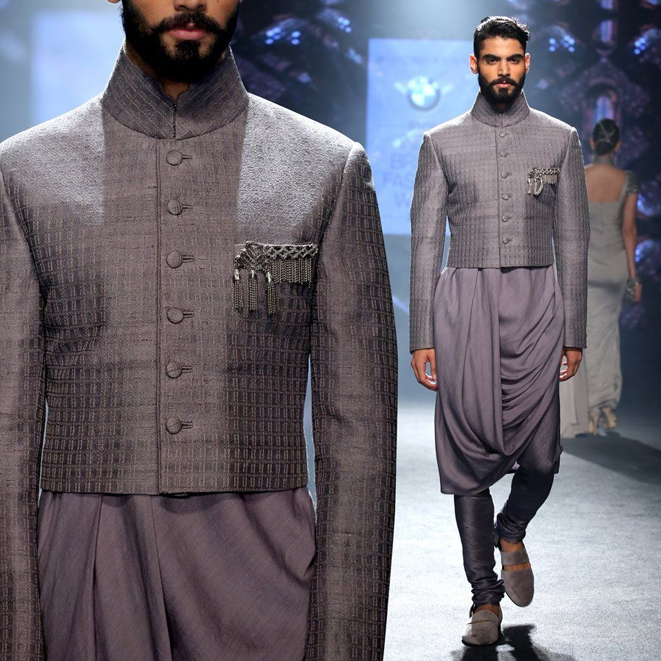 Photo of cowl style kurta