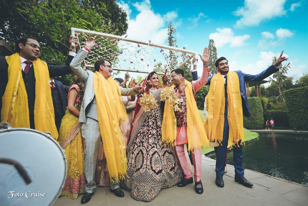 Photo of fun bridal entry idea