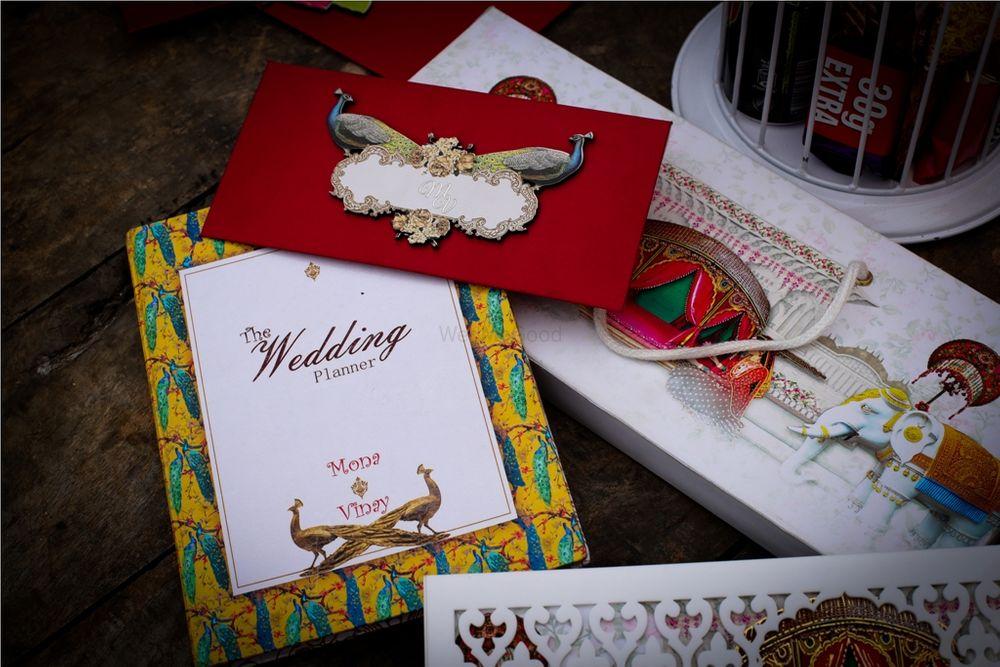 Photo of Modern wedding invitation card