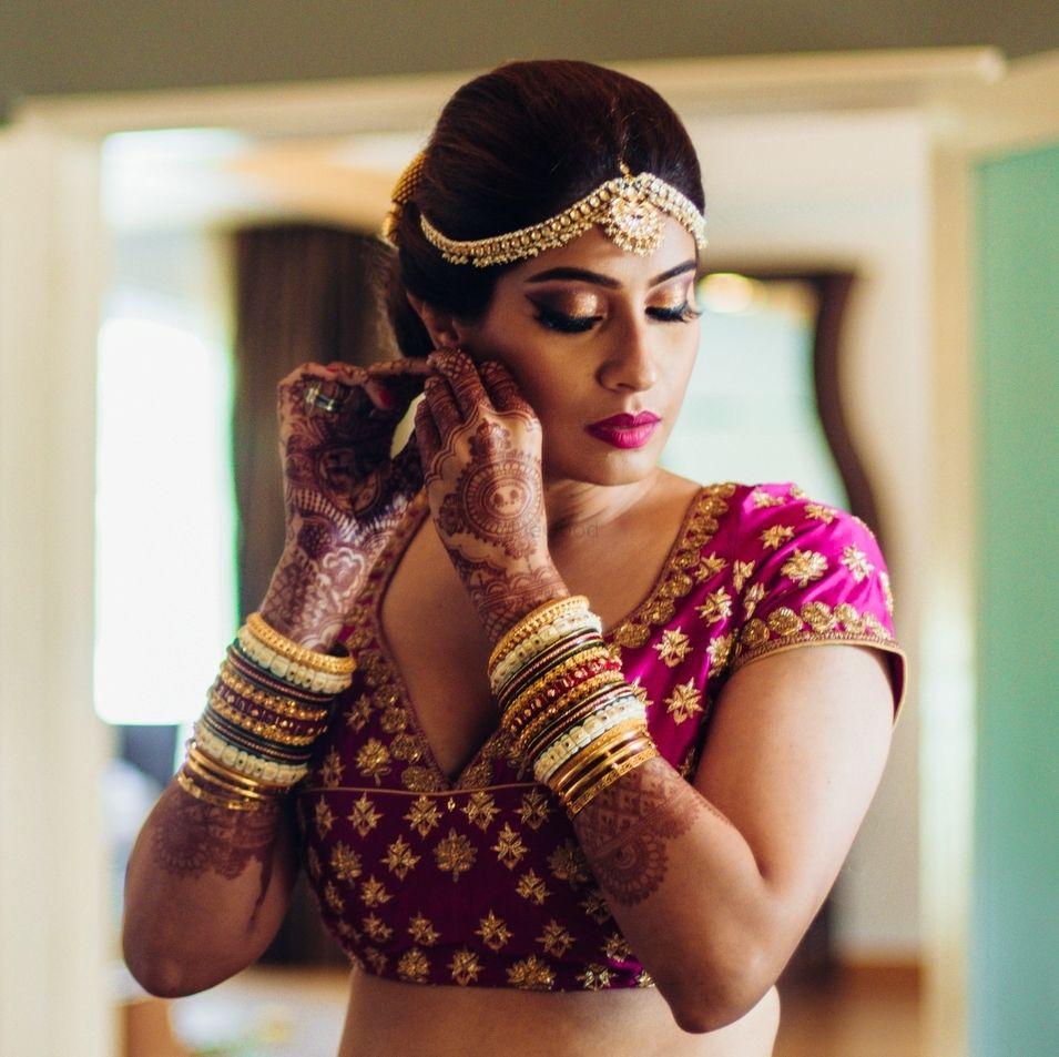 Photo By Bina Punjani Hair Studio - Bridal Makeup