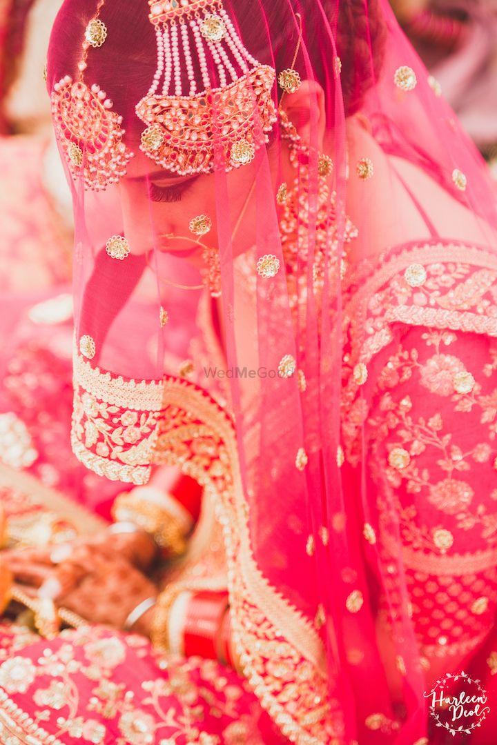 Photo of Beautiful regal bridal portrait