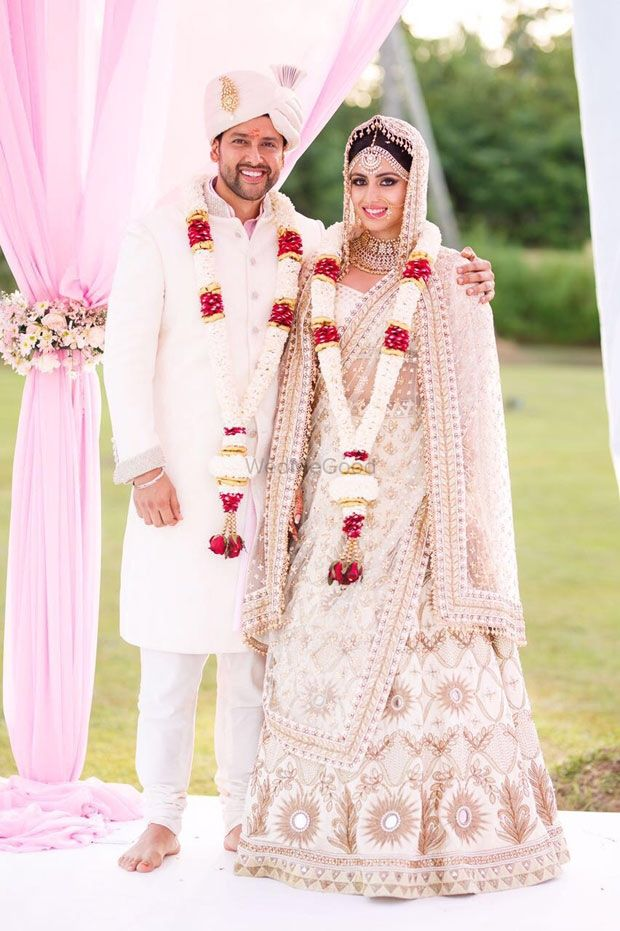 Photo of Wedding day couple shot