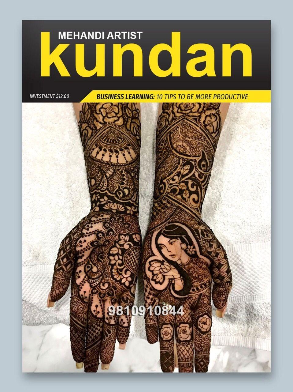 Photo By Kundan Mehendi Artist - Mehendi Artist