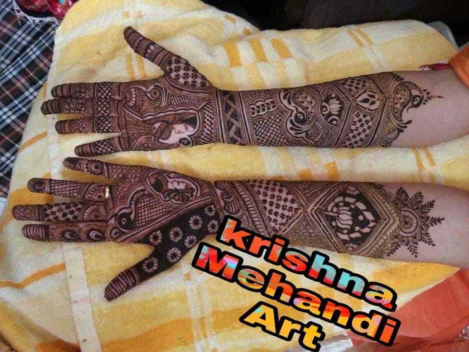 Photo By Krishna Mehndi Art Hyderabad - Mehendi Artist