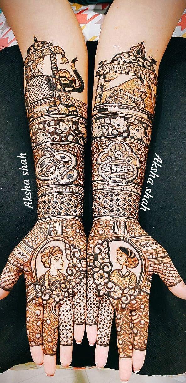 Photo By Aksha Shah Mehendi Designer - Mehendi Artist