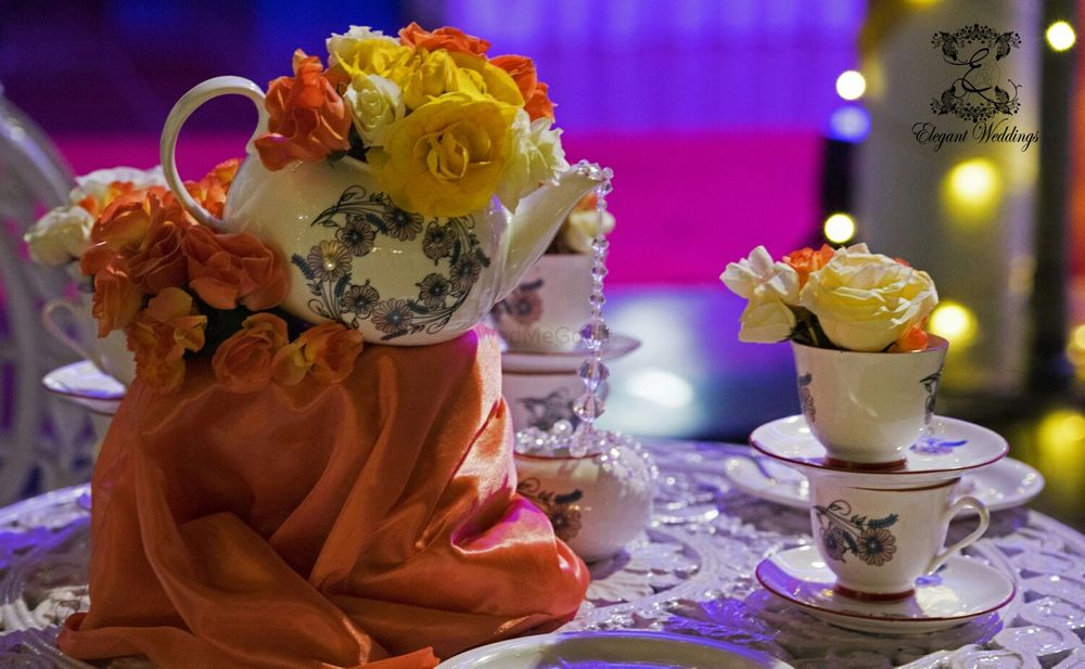 Photo of quirky centerpieces