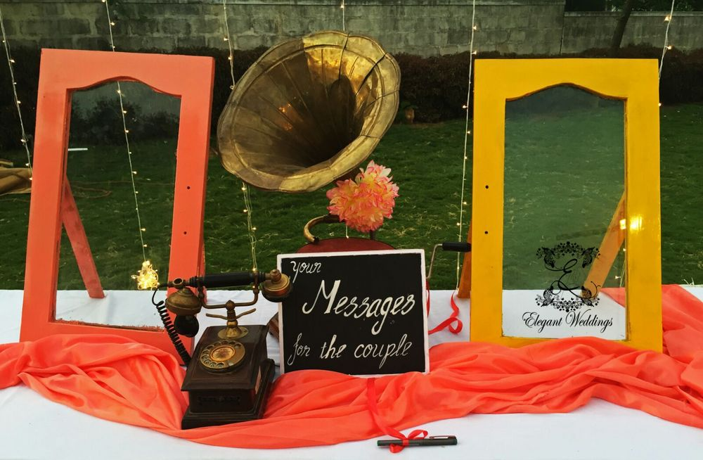 Photo of leave a message for the couple