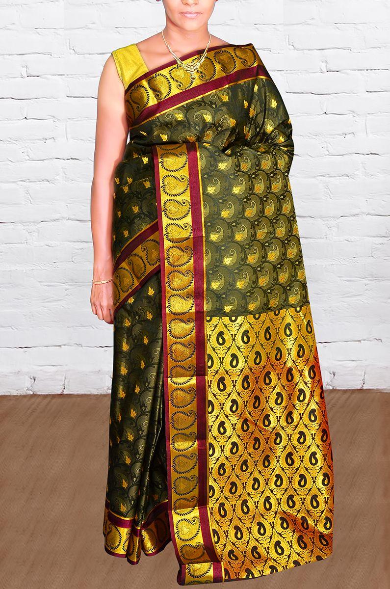Photo By Kanjivaram Silks - Bridal Wear