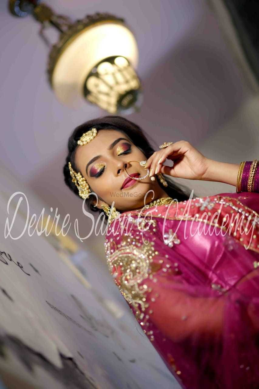 Photo By Desire Salon and Spa - Bridal Makeup